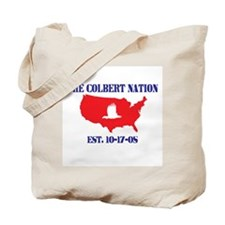 The Colbert Nation Tote Bag
