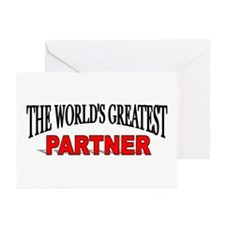 """""""The World's Greatest Partner"""" Greeting Cards (Pac"""