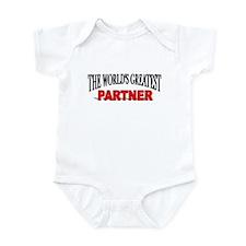 """""""The World's Greatest Partner"""" Infant Bodysuit"""