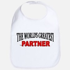 """The World's Greatest Partner"" Bib"