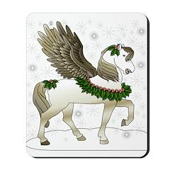 Winter Pegasus Mousepad