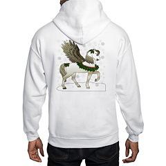 Winter Pegasus (Back Design) Hoodie