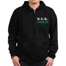 Win The Day - Eagles Zipped Hoodie