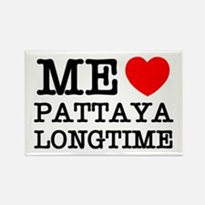 ME LOVE PATTAYA LONGTIME Rectangle Magnet