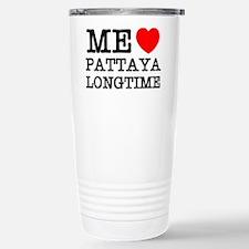 ME LOVE PATTAYA LONGTIME Travel Mug