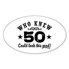 Funny 50th Birthday Decal