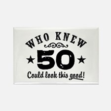 Funny 50th Birthday Rectangle Magnet