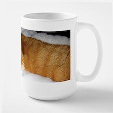 Orange Cat on His Day Off Mug