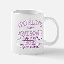 World's Most Awesome Boss Mug