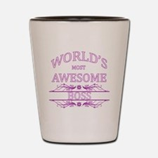 World's Most Awesome Boss Shot Glass