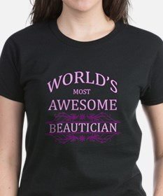 World's Most Awesome Beautician Tee