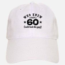 Funny 60th Birthday Baseball Baseball Cap