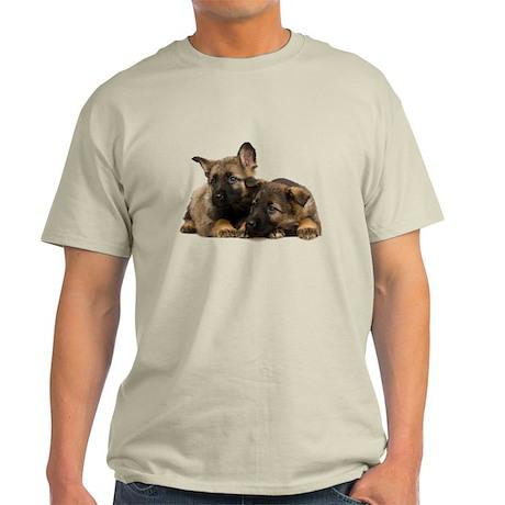 German Shepherd Siblings Light T-Shirt