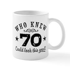 Funny 70th Birthday Small Mug