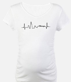 Chicago Heartbeat Letters Shirt