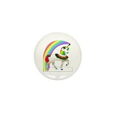 Rainbow Unicorn Mini Button (10 pack)