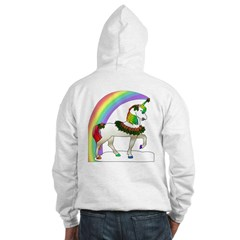 Rainbow Unicorn (Back Design) Hoodie