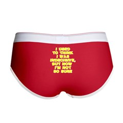 I used to think Women's Boy Brief