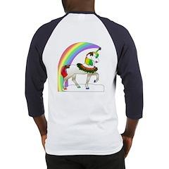Rainbow Unicorn (Back Design) Baseball Jersey