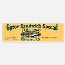 Gator Sauce Bumper Bumper Bumper Sticker