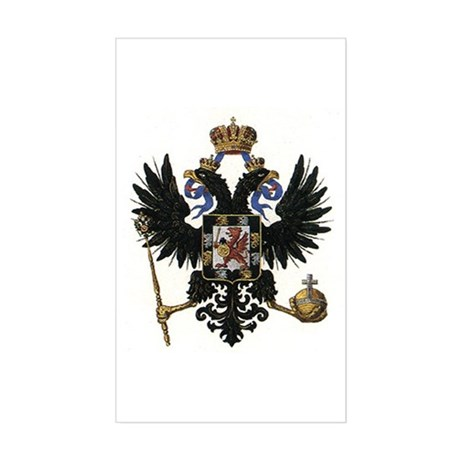 Romanov Dynasty Rectangle Sticker