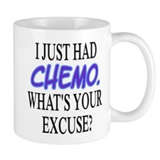 I Just Had Chemo Funny Cancer Small Mug