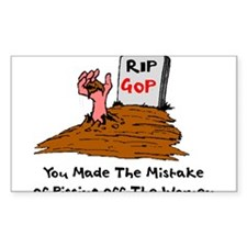 R.I.P GOP Decal