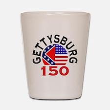 Gettysburg 150th Anniversary Civil War Shot Glass