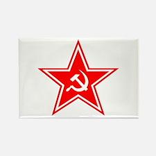 Red Soviet Rectangle Magnet