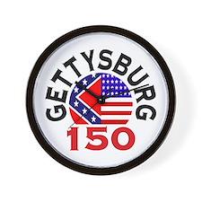 Gettysburg 150th Anniversary Civil War Wall Clock
