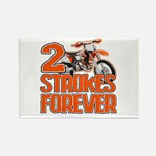 2 Strokes Forever Rectangle Magnet
