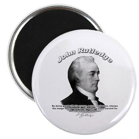 """John Rutledge 01 2.25"""" Magnet (100 pack)"""