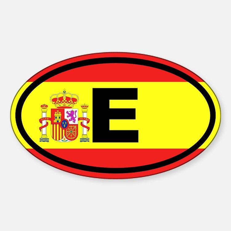 Spain E European Decal