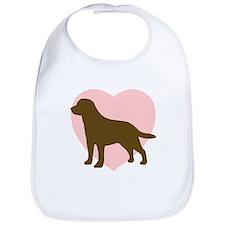 Labrador Retriever Heart Bib