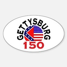 Gettysburg 150th Anniversary Civil War Decal