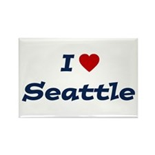 I HEART SEATTLE Rectangle Magnet