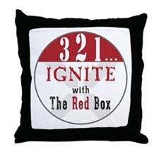 3-2-1 IGNITE! Throw Pillow