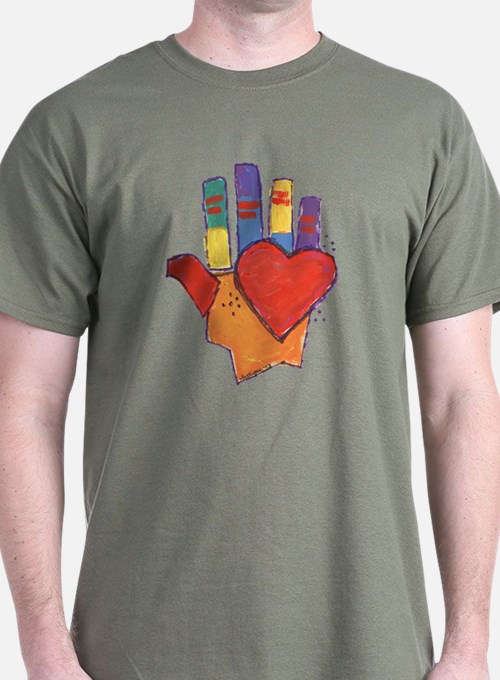 Hand and Heart T-Shirt