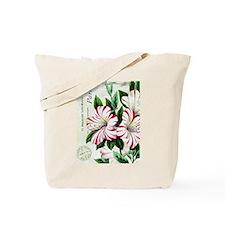 Vintage French Christmas amaryllis Tote Bag
