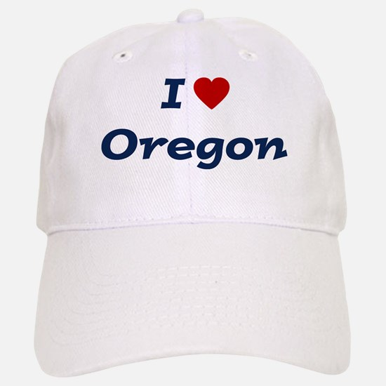 I HEART OREGON Baseball Baseball Cap