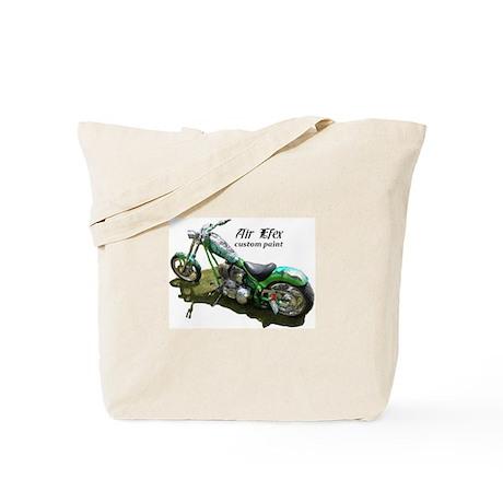 custom airbrushed Ironhorse chopper Tote Bag
