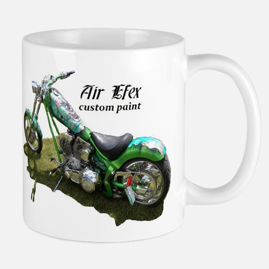 custom airbrushed Ironhorse chopper Mug