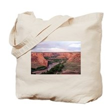 Canyon de Chelly, Arizona, USA at sunset 1 Tote Ba