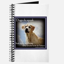 Dogs do Speak Journal