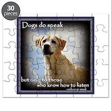 Dogs do Speak Puzzle