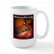 Love my dog Mug