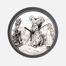 Brewster 4 Wall Clock