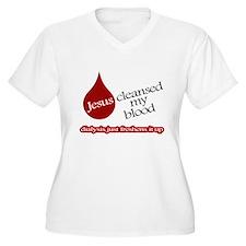 Jesus Dialysis Plus Size T-Shirt