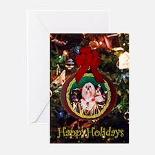 Shih Tzu Christmas Card MHC Greeting Cards (Packag