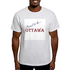 Ottawa Ash Grey T-Shirt